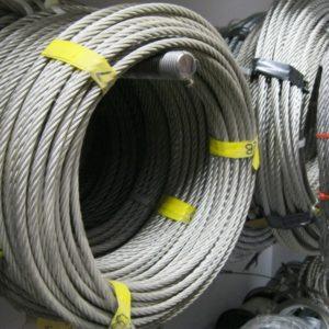 cable d'acier varié