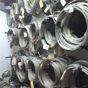cable stainless mur