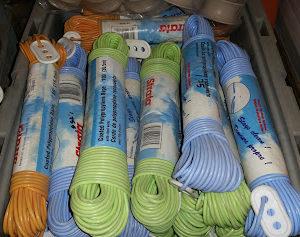 corde à linge couleur