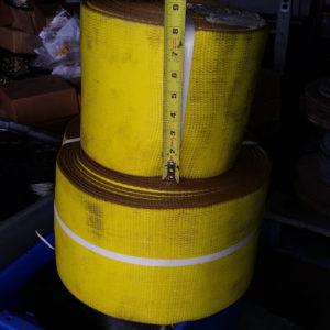strap jaune 8po